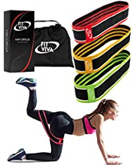 Fit Viva's Team of product designers with the feedback from over 20 professional athletes created the Fabric Hip Bandw for anyone who seeks to improve their legs & glutes appearance while getting stronger and healthier.  Why are our Exerc...