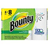 Bounty Paper Towels, Print, 6 Big Rolls = 8 Regular Rolls, Prime Pantry
