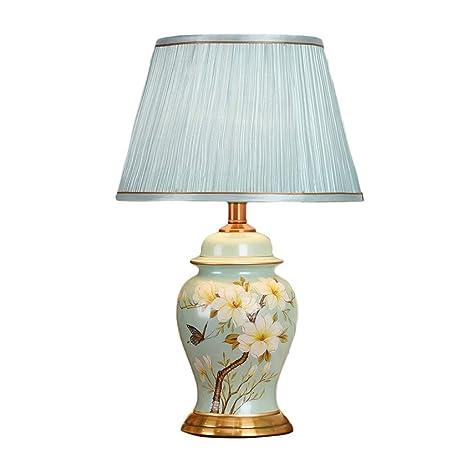YINUO lámparas de mesa Lámpara de mesa de cerámica del ...