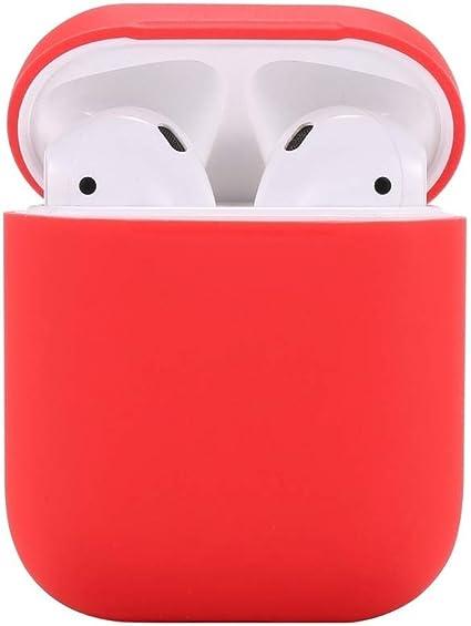 Housse Airpods Protection Airpods Airpods Apple,Teyomi Housse de Protection en Silicone Peau avec Sangle de Sport pour Apple Airpods Casque étui de
