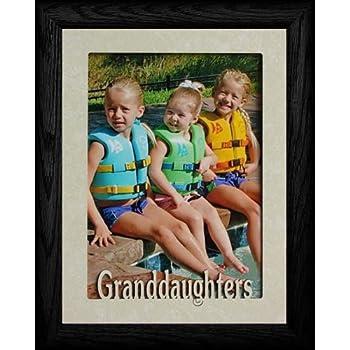 Amazon.com - 5x7 JUMBO ~ GRANDDAUGHTER ~ Portrait Picture Frame ...