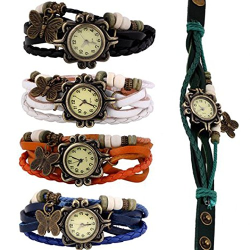 Ularmo-2015-New-Popular-Wholesale-Lot-of-5pcs-Womens-Girls-Butterfly-Bracelet-Wrist-Watches