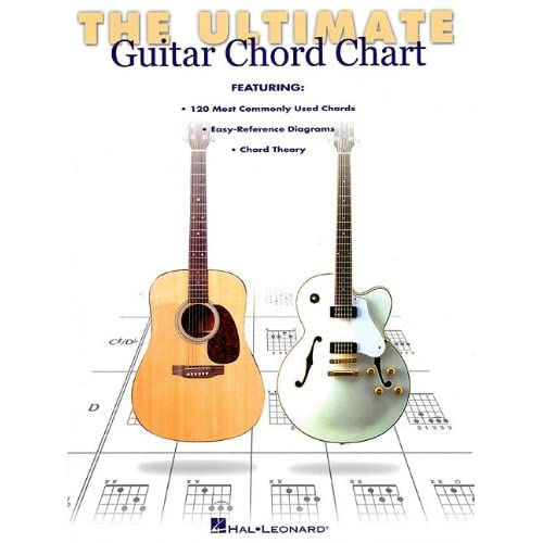 The Ultimate Guitar Chord Chart Hal Leonard Corp 9780634000287