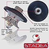 STADEA Diamond Profile Wheel / Profile Grinding Wheel Full Bullnose 25 MM 1'' high for Grinder Polisher Tile Granite marble Concrete Shaping/Diamond Profiling
