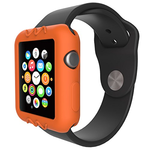 For Apple Watch 38mm Protective Case, 10x Replacement Silicone Soft Case Cover for Apple Watch Series 3 2 1 Smartwatch, 10pcs by E ECSEM (Image #7)