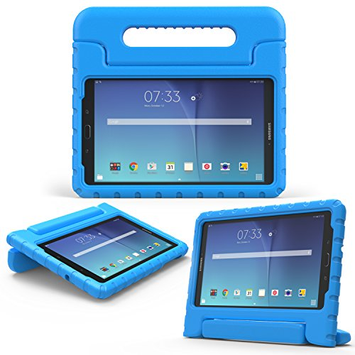 Cheap Cases MoKo Samsung Galaxy Tab E 8.0 Case - Kids Shockproof Convertible Handle..