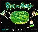 Rick & Morty Inflatable Ottoman Portal Chair