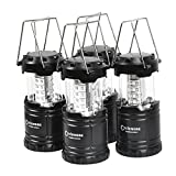 Best Camping Lantern Ultra Brights - 4 Pack,Portable LED Camping Lantern,Outdoor Flashlights.Water Resistant Ultra Review