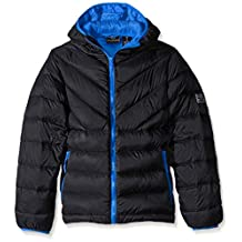 Weatherproof Little Boys' Sweater Down Jacket with Heat Reflective Lining