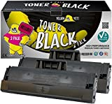 Yellow Yeti MLT-D111S (1,000 Pages) 2 Compatible Toner Cartridges for Samsung Xpress SL-M2020 M2020W SL-M2026 M2026W SL-M2070 M2070W M2070FW M2070F SL-M2021W SL-M2022 M2022W M2071W [3 Years Warranty]