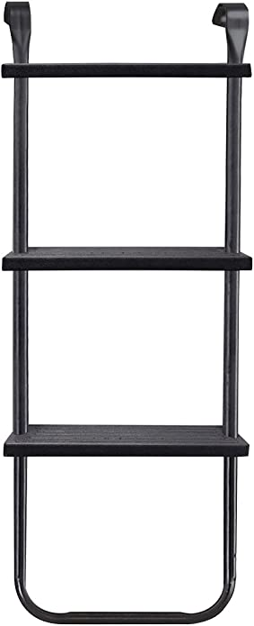 Plum - Escalera ajustable para cama elástica, 52 x 105 cm, color negro: Plum Adjustable Ladder: Amazon.es: Zapatos y complementos