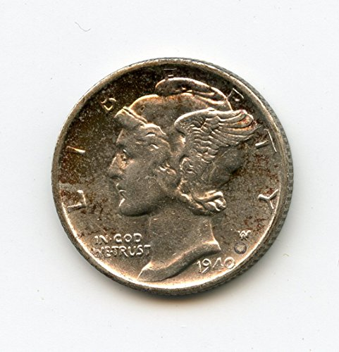 1940 S Mercury Dime MS-65