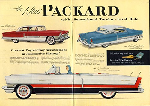 The New Packard Caribbean Convertible Patrician Four, used for sale  Delivered anywhere in USA