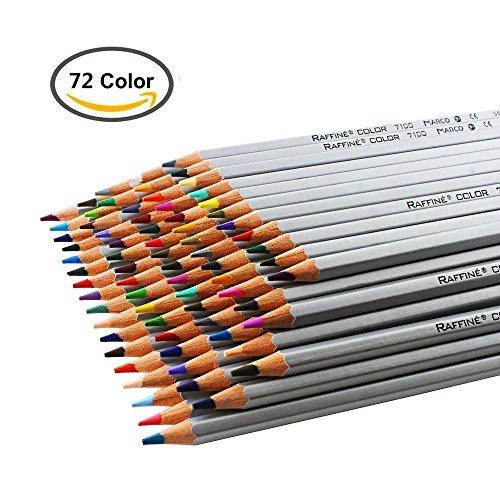 ZJchao 72 Crayons de Couleur Coloriage pour Peinture