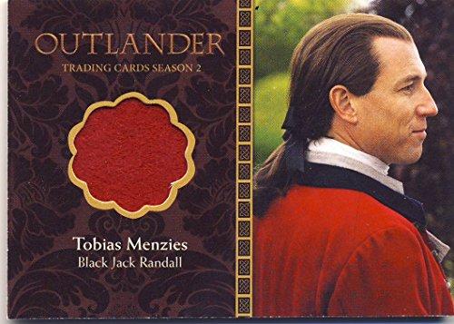 2016 Outlander Season 2 Trading Cards Wardrobe Card M11 Tobias Menzies as Black Jack Randall