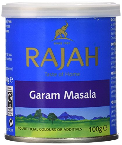 Rajah Garam Masala, 100g Unit (Pack of 6) by Rajah