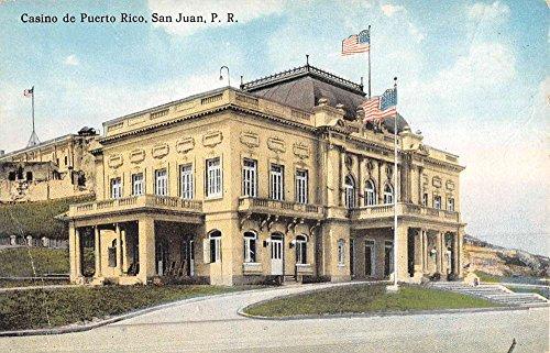 San Juan Puerto Rico Casino Exterior Street View Antique Postcard K46665 (Puerto Rico Casino)