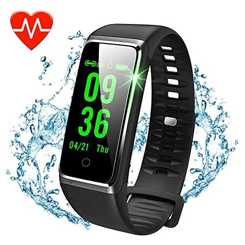 beitony Fitness Tracker, Color Screen Activity Tracker with Heart Rate Monitor Watch, IP67 Waterproof Fitness Watch with…