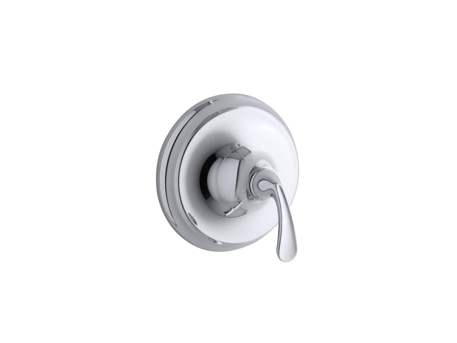 KOHLER TS10277-4-CP Forté(R) Sculpted Rite-Temp(R) valve trim by Kohler (Image #1)