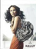 **PRINT AD** With Christy Turlington For Bally Snake Skin Handbags **PRINT...