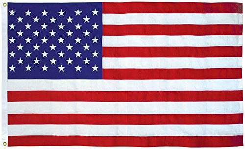 American Flag 4x6 Ft 2-Ply Polyester Presidential Series Sewn 4'x6' US Flag ()
