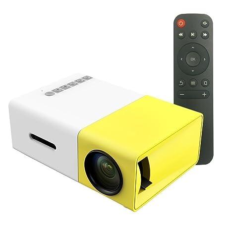 e9befa0f560a6e Portable Mini LCD Projectors, Multimedia 1080P LED Pico Mobile Projector  for Home Cinema Theater Video