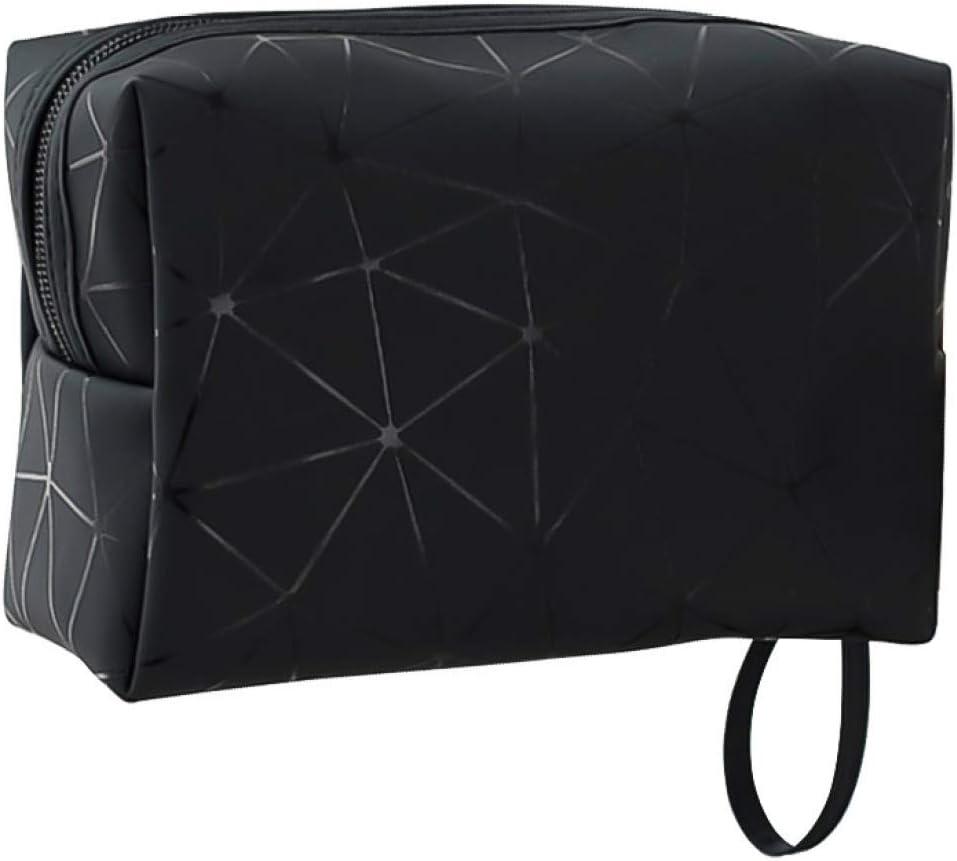 WFAL Spiritual Travel Carry Small Storage Bolsa de cosm/éticos impermeable de poliuretano suave dise/ño octogonal