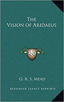 Book The Vision of Aridaeus
