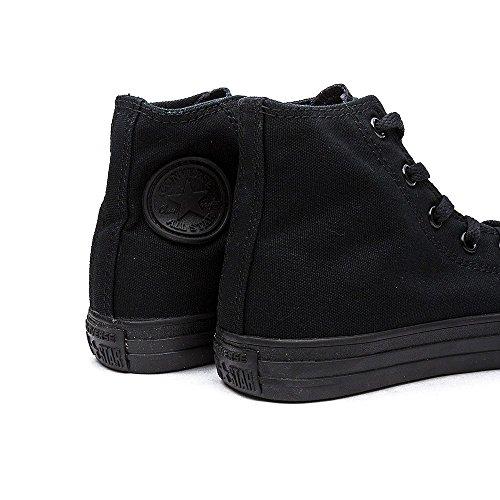 Converse Unisex-Kinder CT As SP Hi YTH Blk Mono Hohe Sneaker Schwarz (Black)