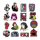 Superman Batman Laptop Stickers Vinyl - 35 Pack DC