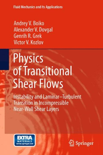 - Physics of Transitional Shear Flows: Instability and Laminar–Turbulent Transition in Incompressible Near-Wall Shear Layers (Fluid Mechanics and Its Applications)