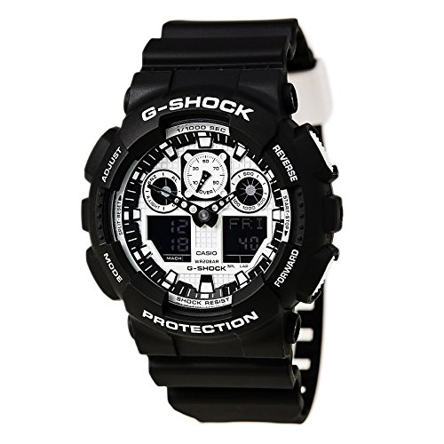 Casio G-Shock GA-100BW-1A White and Black Series Luxury for sale  Delivered anywhere in USA
