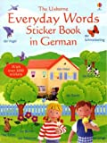Everyday Words Sticker Book in German (Everyday words sticker books)