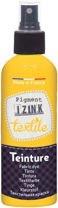 Aladine – Esmalte de tinte textil en aerosol Izink – Tinta textil decorativa – Fácil aplicación – Hecho en Francia – Botella de spray de 80 ml – Color ...