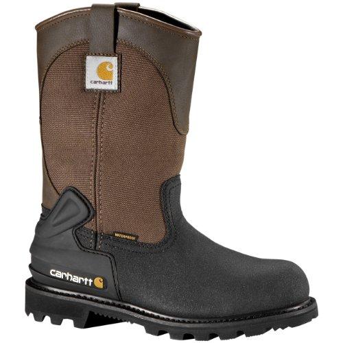 Carhartt Men's CMP1259 11 Mud Well ST Work Boot,Brown/Black