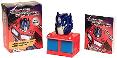 Transformers: Light-Up Optimus Prime Bust and Illustrated Book: With Sound! (Miniature Editions)