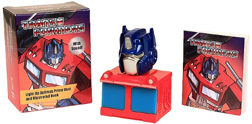 Download Transformers: Light-Up Optimus Prime Bust and Illustrated Book: With Sound! (Miniature Editions) pdf epub