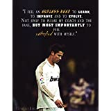 Cristiano Ronaldo Get Motivated Poster Paper Print 12 x 18 inch
