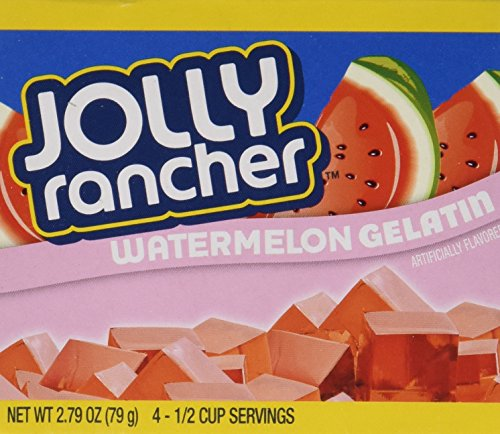 Jolly Rancher Watermelon Gelatin Jello (4 -