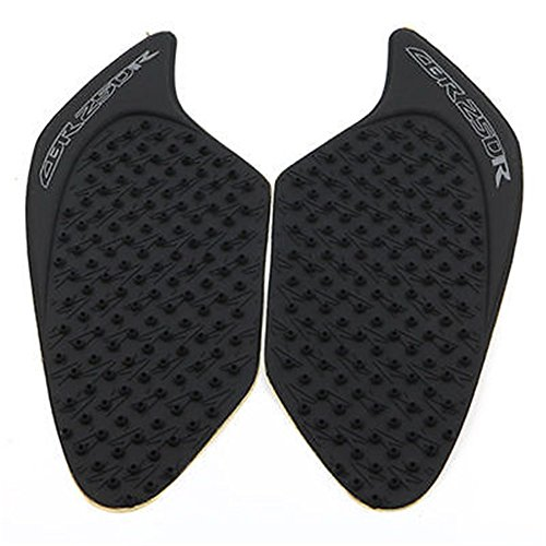 - 3D Rubber Tank Traction Pad Side Gas Knee Grip Protector for Honda CBR250R 2010-2016