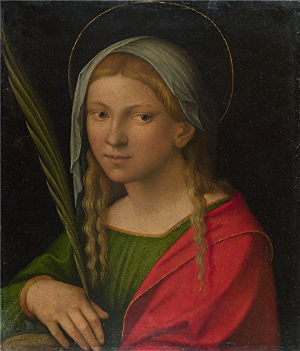 [Oil Painting 'Garofalo Saint Catherine Of Alexandria', 16 x 19 inch / 41 x 48 cm , on High Definition HD canvas prints is for Gifts And Gym, Home Office And Kids Room Decoration,] (Diy Nerd Costume Youtube)