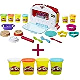 Play-Doh Kitchen Creations Magical Oven + FREE Additional Pack of 4 Play- Doh, Classic Colors