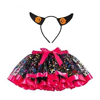 Falda Tul para Niñas Halloween Disfraz Colores Otoño PAOLIAN Falda ...