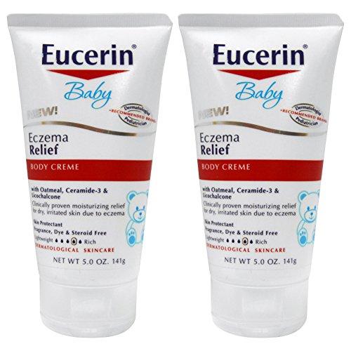 Eucerin Eczema Relief Body Cream, 5 Ounce – 2 Pack For Sale
