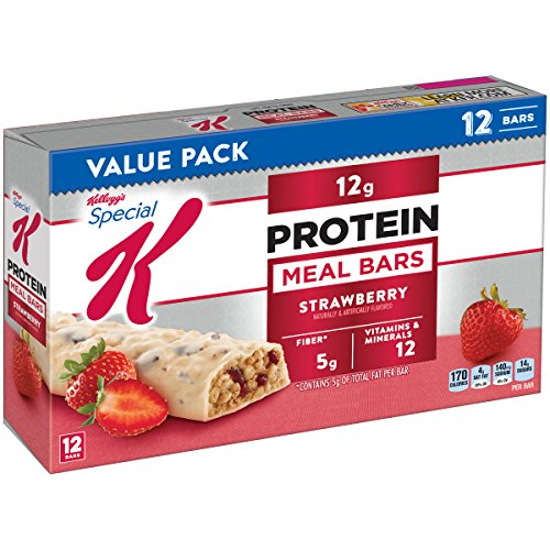 Kellogg's Special K Protein Meal Bars, Strawberry, 12 Count Box