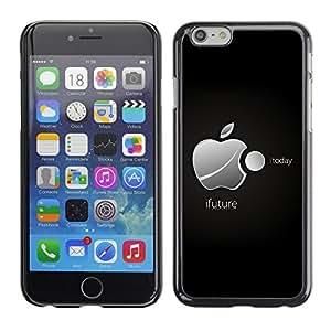 LECELL -- Funda protectora / Cubierta / Piel For Apple iPhone 6 -- iFuture --