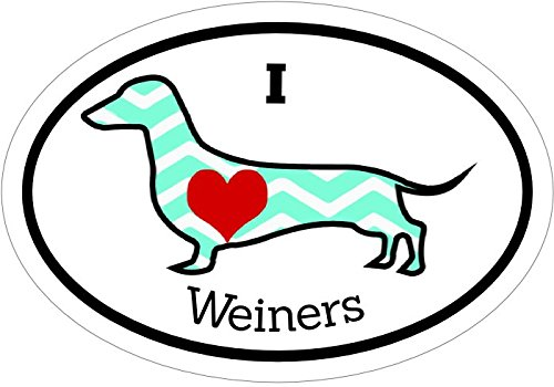 i-love-wieners-dachshund-vinyl-decal-sticker-great-for-truck-car-bumper-or-tumbler-perfect-fur-baby-