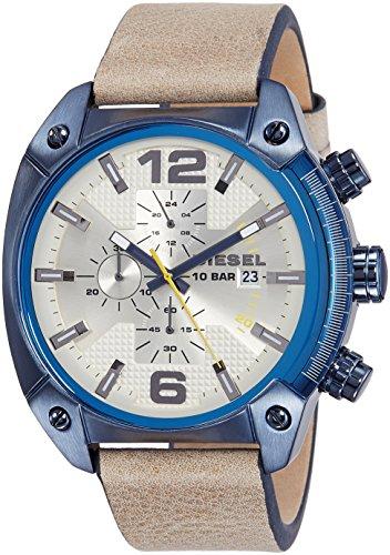 Diesel Men's DZ4356 Overflow Analog Display Quartz Brown Watch