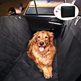 TTLIFE Pet Car Seat Cover Dog Car Seat Pet hammock for Cars with Seat Anchors for Cars - Trucks - and Suv-Black - DogHammock - Slip-proof - WaterProof - add a organizer bag for storage