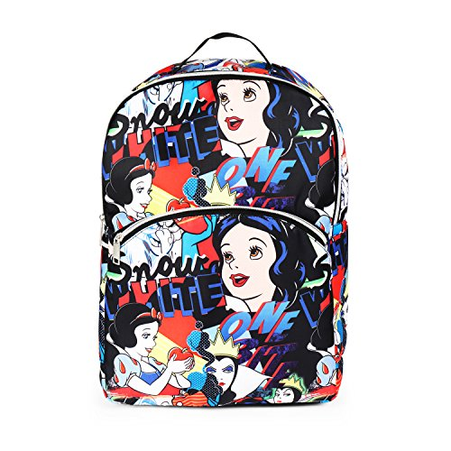 Price comparison product image Disney Snow White All Over Print Backpack School Bag for Girls